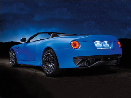 Kahn Design | Aston Martin DB9 Volante вид сзади