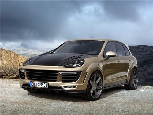 TopCar | Porsche Cayenne вид спереди