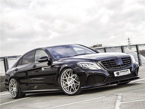 Prior Design | Mercedes-Benz S-Class вид спереди