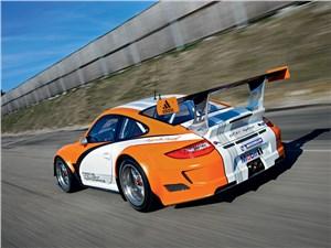Предпросмотр porsche 911 gt3 r hybrid 2.0 2013 вид сзади