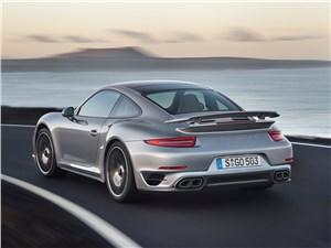 Предпросмотр porsche 911 turbo s 2013 вид сзади