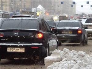 Власти Москвы советуют водителям воздержаться от поездок на автомобилях