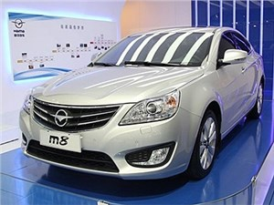 Haima вывела на рынок новый седан М8