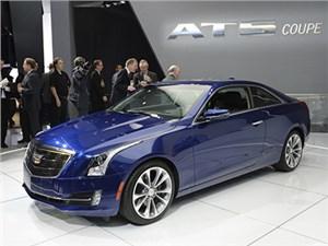 Cadillac представил в Детройте двухдверную версию седана ATS