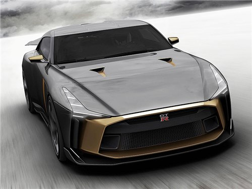 Новость про Nissan GT-R - Nissan и Italdesign сделали уникальный GT-R
