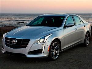 На российском рынке отзываются новые седаны Cadillac CTS