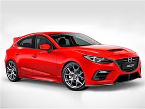 Mazda готовит к премьере новую версию модели Mazda 3 MPS