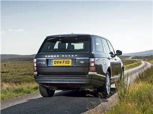 Land Rover Range Rover 2013 вид сзади