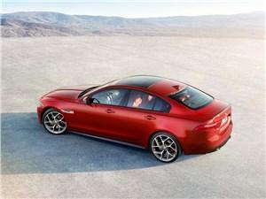 Предпросмотр jaguar xe 2015 вид сверху
