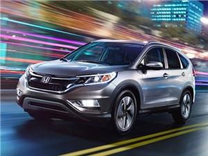 Новая Honda CR-V вышла на американский рынок