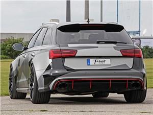 Schmidt Revolution / Audi RS6 Avant вид сзади