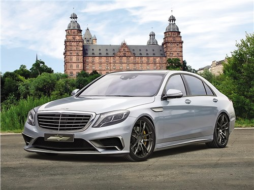 Voltage Design | Mercedes-AMG S 65 вид спереди
