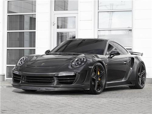 TopCar | Porsche 911 Turbo S вид спереди