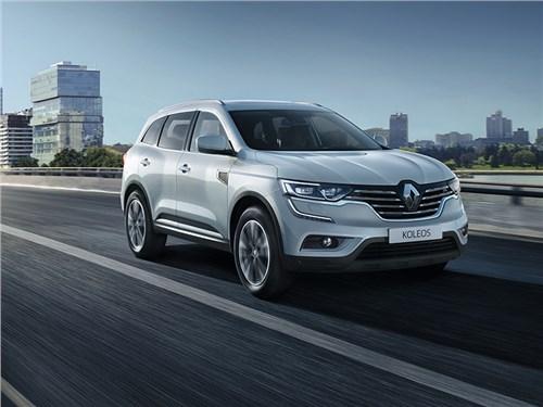 Renault привезла в Россию дизельный Koleos