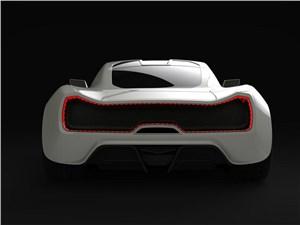 Предпросмотр trion supercars nemesis 2015 вид сзади белый