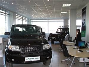 Спрос на российские внедорожники УАЗ на внешних рынка упал на 38%
