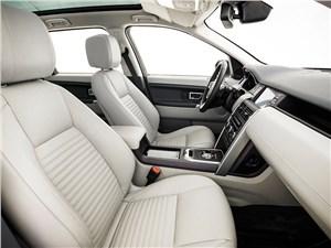 Land Rover Discovery Sport 2015 передние кресла