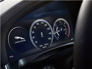Предпросмотр jaguar xf 2016 приборная панель