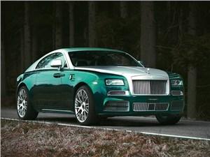 Mansory / Rolls-Royce Wraith 2014 вид спереди