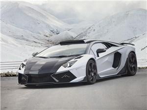 Mansory / Lamborghini Aventador 2014 вид спереди