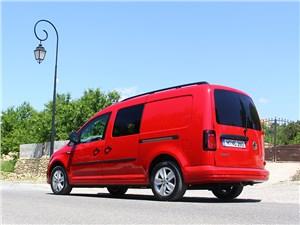 Предпросмотр volkswagen caddy 2016 вид сзади