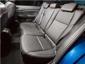 Subaru WRX 2015 задний диван