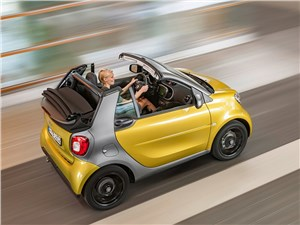 Предпросмотр smart fortwo cabrio 2016 вид сверху