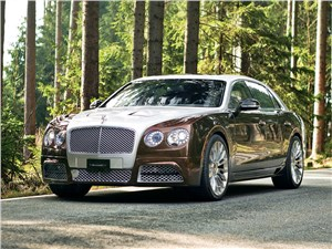 Mansory / Bentley Flying Spur 2014 вид спереди