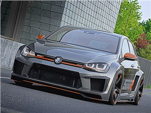 Oettinger / Volkswagen Golf R вид спереди