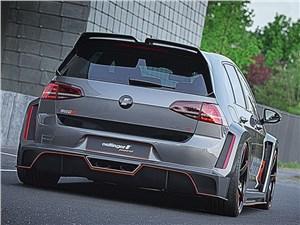 Oettinger / Volkswagen Golf R вид сзади