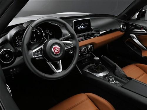 Fiat 124 Spider - Fiat 124 Spider 2016 салон