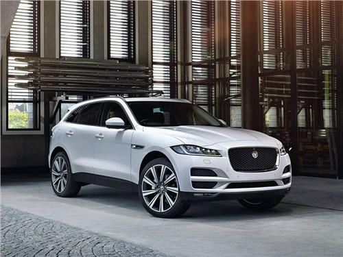 Jaguar F-Pace получил рублевый ценник