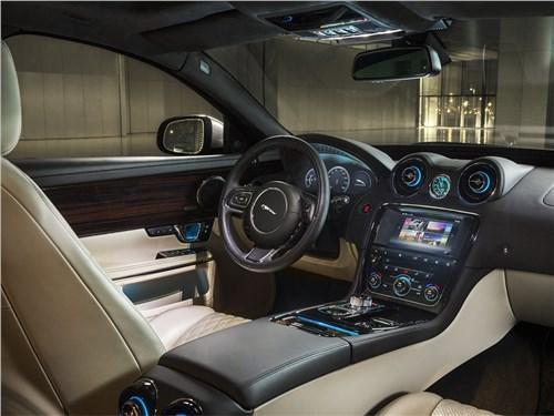 Больше не нужно XJ - Jaguar XJ 2016 салон