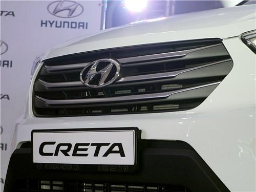 Предпросмотр hyundai creta 2016 решетка радиатора