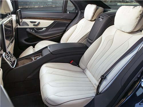 Предпросмотр mercedes-benz s500 e plug-in hybrid 2015 задние кресла