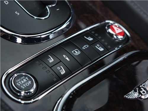 Bentley Continental Flying Spur 2013 управление климатом