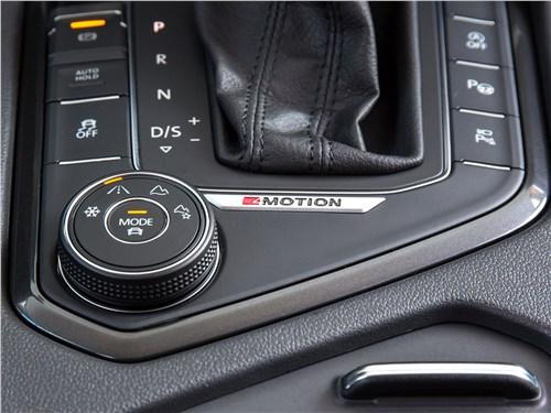 Volkswagen Tiguan 2017 выбор режимов движения
