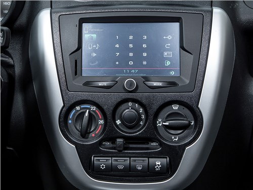 Lada Granta Liftback 2014 центральная консоль