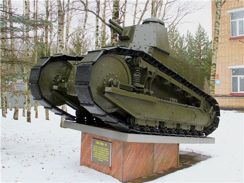 Легкий пехотный МС – первый танк, разработанный в СССР