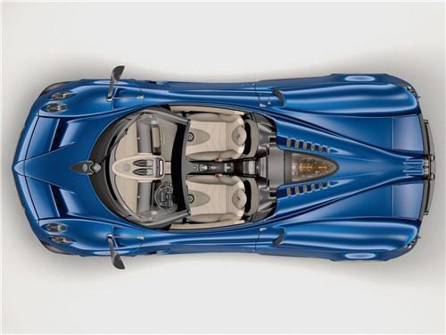 Предпросмотр pagani huayra roadster 2017 вид сверху