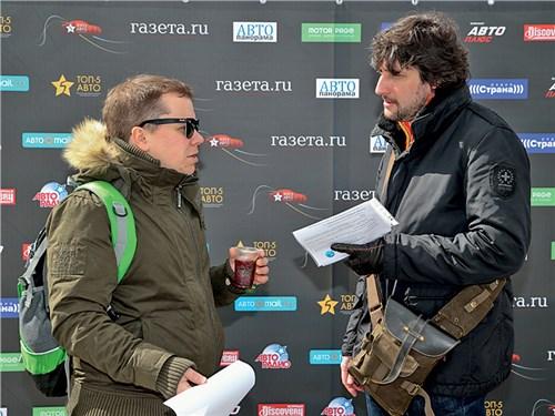 Анатолий Караваев («Газета.Ru») и Кирилл Горшков (AC Consulting)