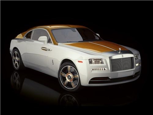Эдди Сотто | Rolls-Royce Wraith вид спереди