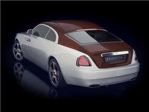 Эдди Сотто | Rolls-Royce Wraith вид сзади