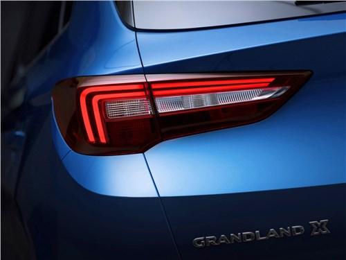 Предпросмотр opel grandland x 2018 задний фонарь