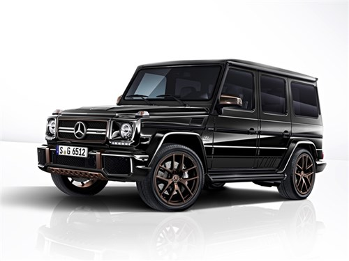 Новость про Mercedes-Benz G-Class AMG - Mercedes-Benz G65 AMG