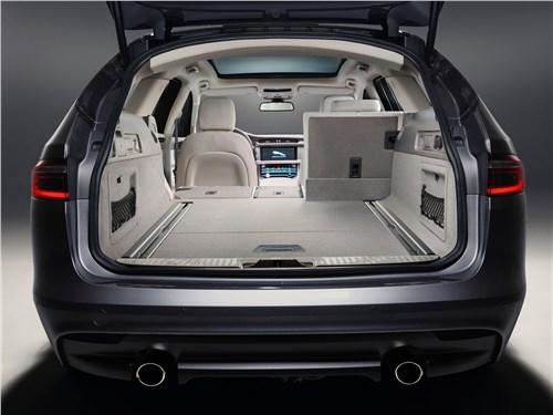 Предпросмотр jaguar xf sportbrake 2018 багажное отделение