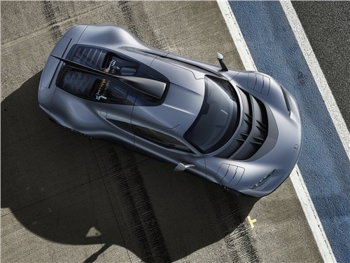 Предпросмотр mercedes-benz amg project one concept 2017 вид сверху