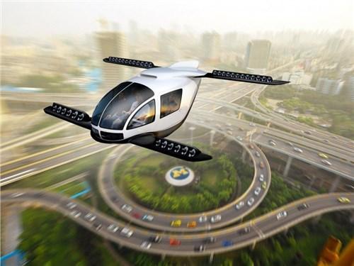 В России разрабатывают летающий автомобиль