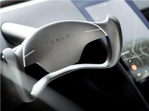 Предпросмотр tesla rodster concept 2020 руль