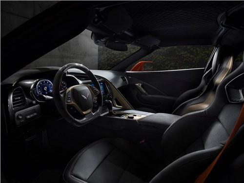 Предпросмотр chevrolet corvette zr1 2019 салон